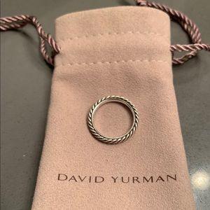 David Yurman cable ring size 5